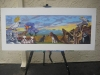 winning rendering for Sierra Vista mural